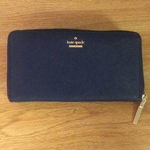 BRAND NEW kate spade navy wallet